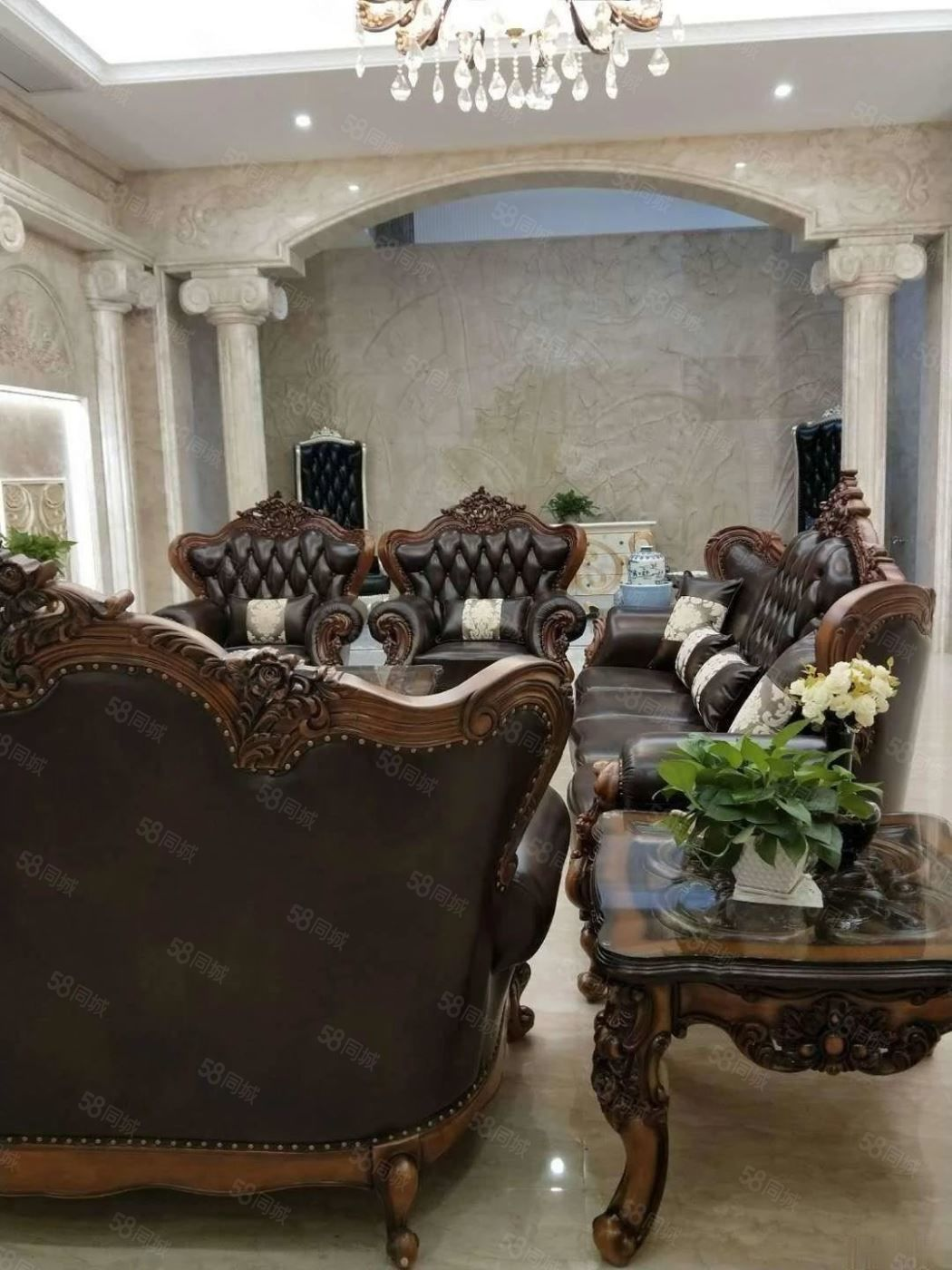 南岸别墅,唐程御品别墅装修五百多万。住的就是一种享受。