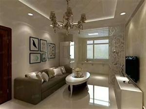 欧亚附近豪华装修两室一厅地热天然气70平31.8万