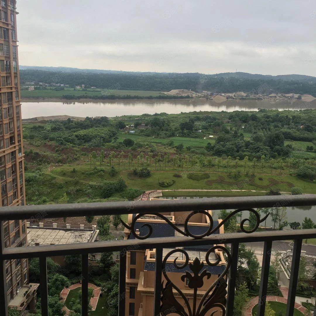 金桥新区置信仁湖花园,超大江景房,户型经典楼层适中。