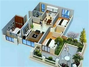 五证齐全小高层准现房首付百分之10双卧客厅朝阳楼层可选