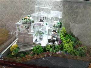 平层双拼别墅、140平方花园,二层半占地233.33平方米