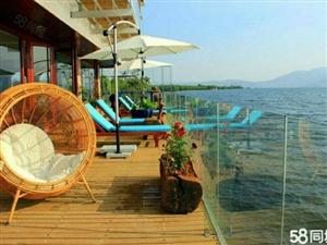 伴山伴水精装湖景房,出门就是抚仙湖!