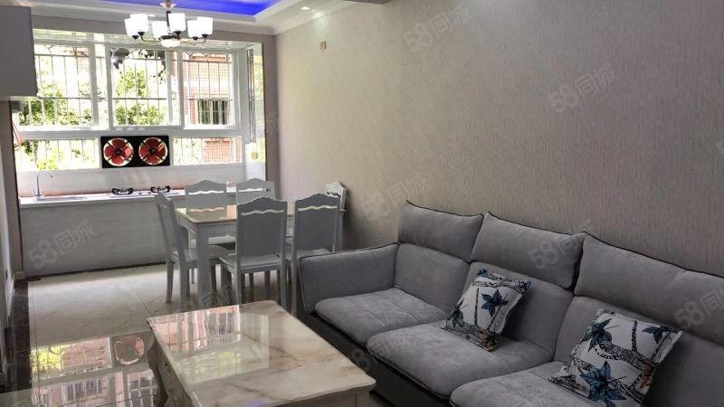 上江北阳光苑三室两厅一厨一卫豪装带家具双证