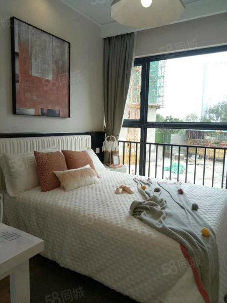 呈贡涌鑫精装公寓1室1厅1卫,超大阳台采光好,总价52万即可