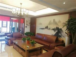 莲东高档小区厦鑫博世园二期电梯高层现代中式风格