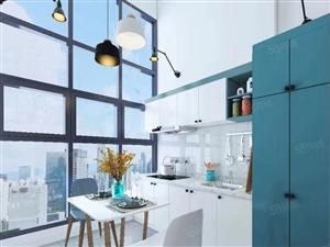 35平米精装复式公寓使用面积大精装修含家具家电交房