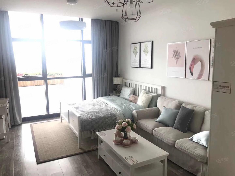 樱花谷旁广龙小镇一线海景精装修带家具家电拎包入住公寓