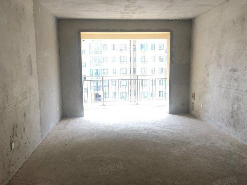 羊山學区房清华园小区毛坯三居室135平电梯高层有证可按揭