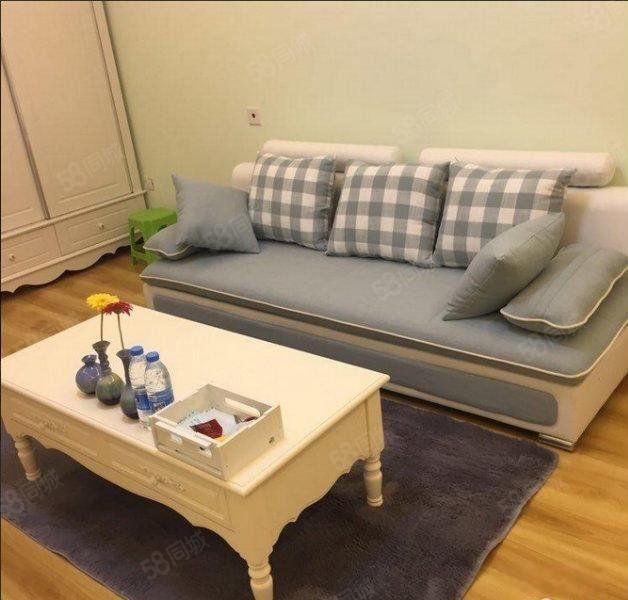 鑫苑世家一室一厅精装修良好采光朝南配合看房