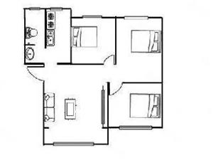 售新十一街小区三室一厅,一把付有优惠