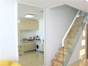 欢乐滨海城复式公寓4.7米层高两层空间一层的价格