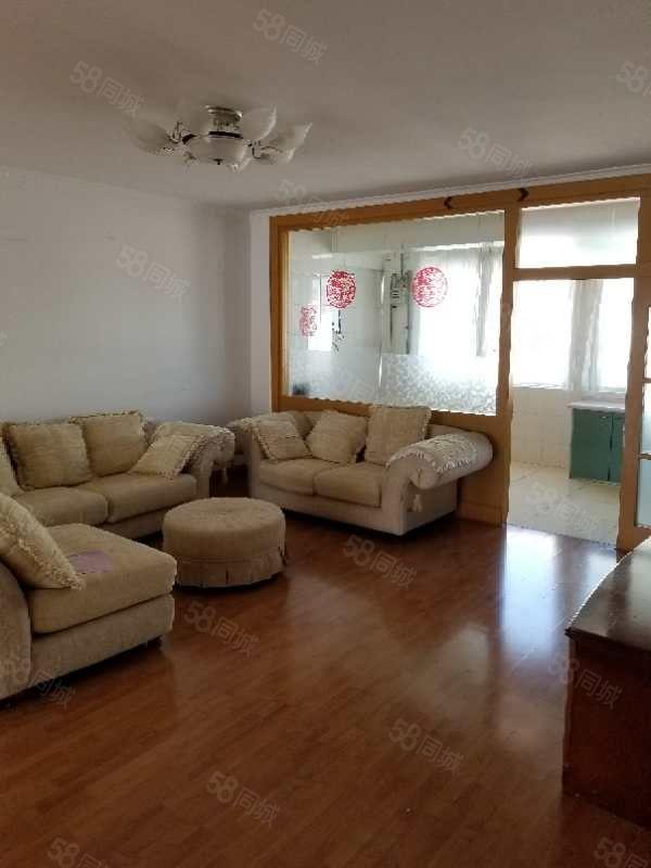 发达望海花园130平三室两厅一卫普通装修家具家电齐全