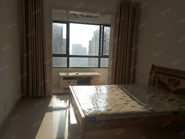 火车站天润广场万家灯火精装两房中央空调家电齐全一年2万有钥匙