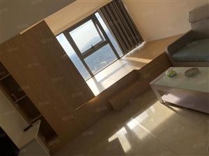 润达国际北公寓高层零遮挡风景房,大型榻榻米,精装修拎包入住