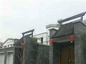 建业生态新城联排两层别墅环境优美