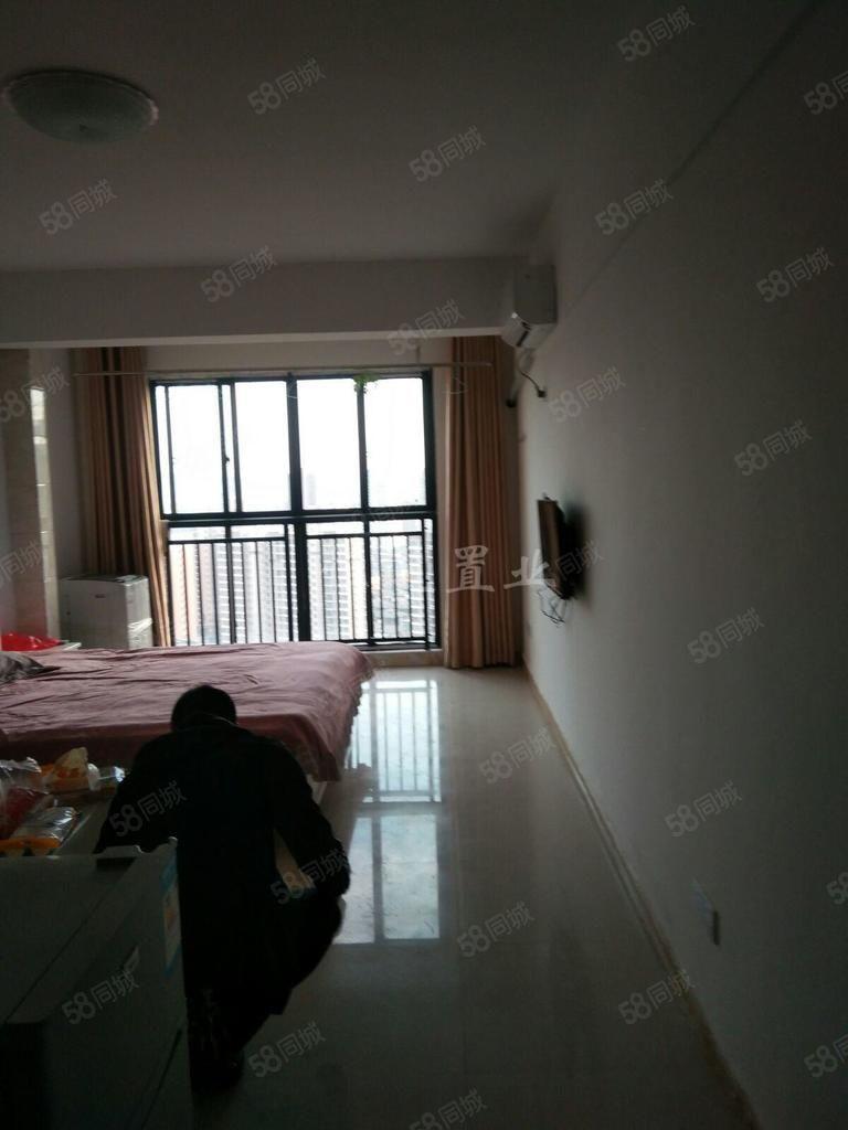 天虹旁边翡翠城单身公寓带家具家电直接拎包入住
