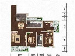 南湖边天德中兴景观房转让3房2厅2卫位置好楼层好免费更名