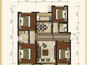 岸上澜湾四室两厅两卫紧邻万达升值空间大