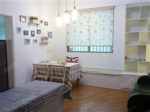 国兴《夏瑶花苑》精装一房一厅,小区环境好,家具齐全拎包入住