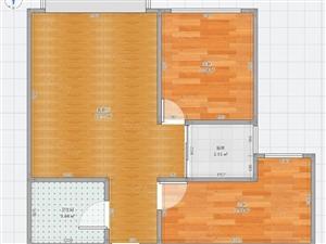 安定区览山国际2室2厅1卫毛坯房楼层好采光佳全款出售可更名