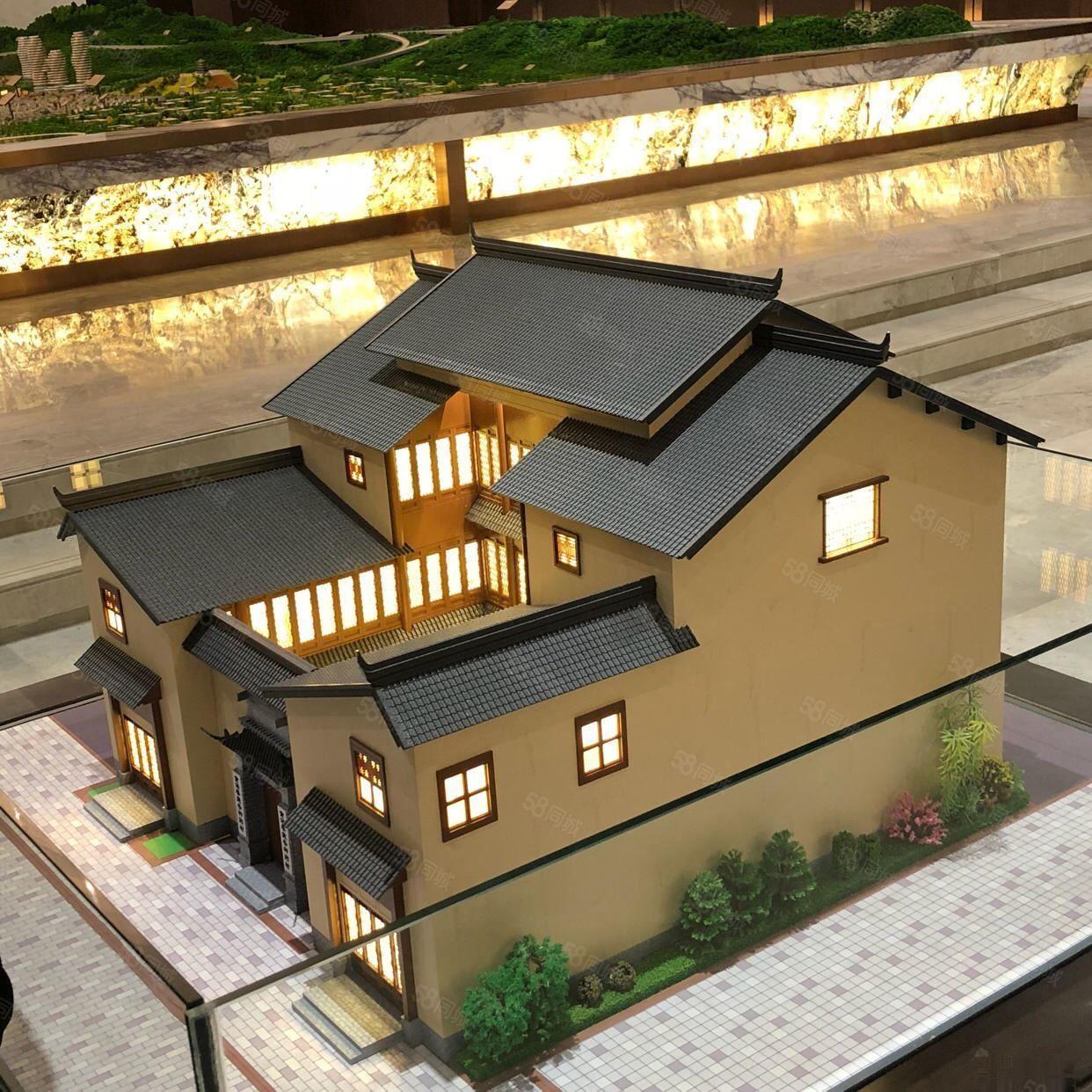 抚仙湖畔樱花谷旁四合院式客栈三层独栋带庭院花园