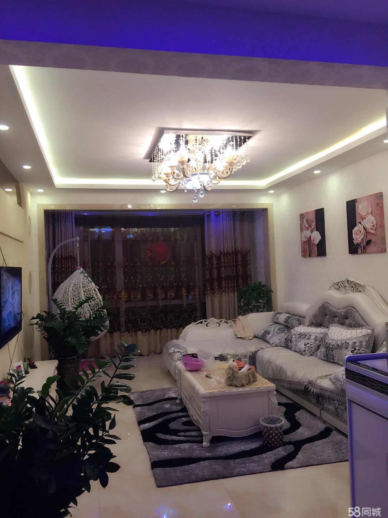 鹤城一号新小区封闭式小区两室一厅一卫豪华装修品牌家电