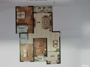 江南城3室2厅2卫