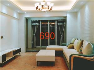 万达中央华城C区新装三房可当婚房送室内面积12平学区房