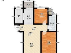 县一中旁素琴雅筑2室2厅1卫