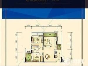 纳溪未来城88平方两房变三房首付9万起!