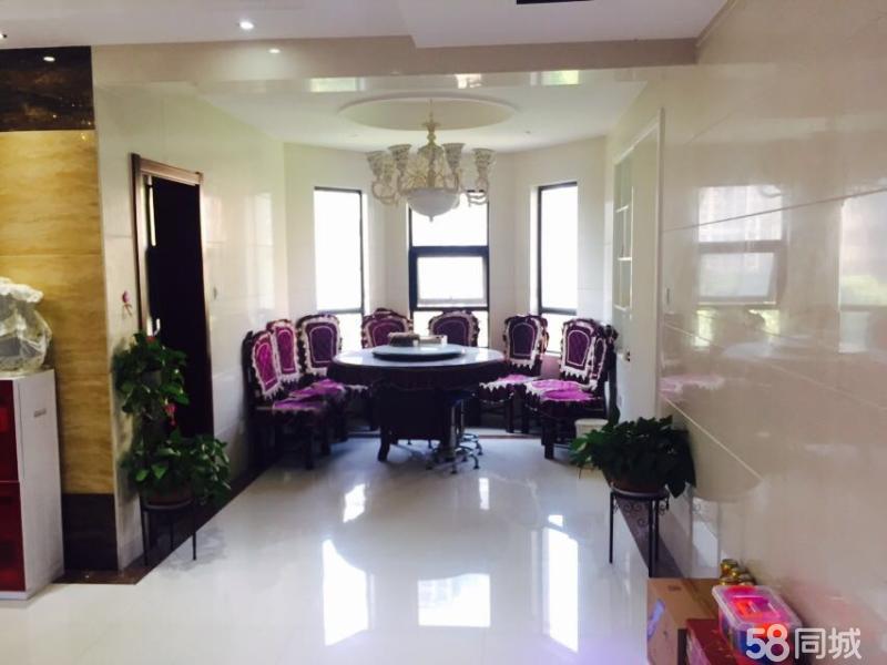 中央名邸高端大四室169平米豪华装修年付