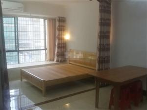 碧水湾二期水岸华庭1800元1室1厅1卫精装修,家电齐