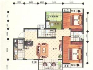 长林嘉苑3室2厅2卫106.59平米