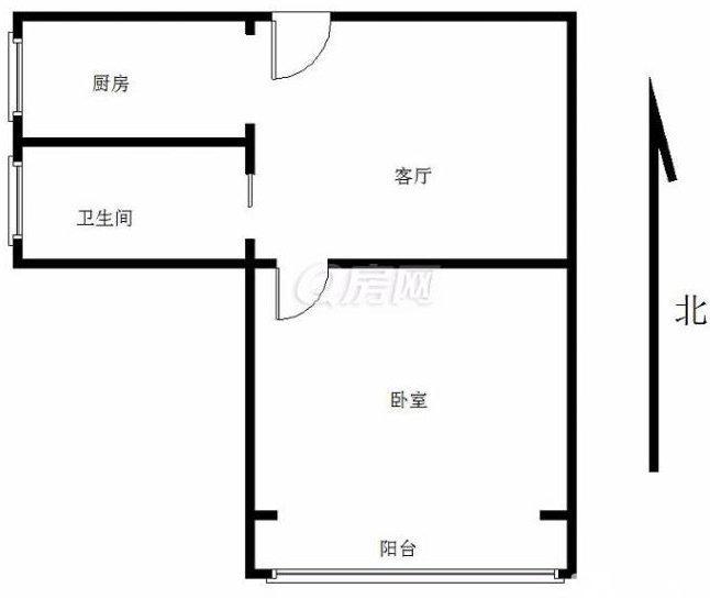 鼓楼区凤凰西街凤凰花园城清溪园 1室1厅1卫 41.08平米