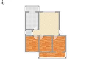 新葡京新房从龙北路柏桐苑3室2厅1卫120平米