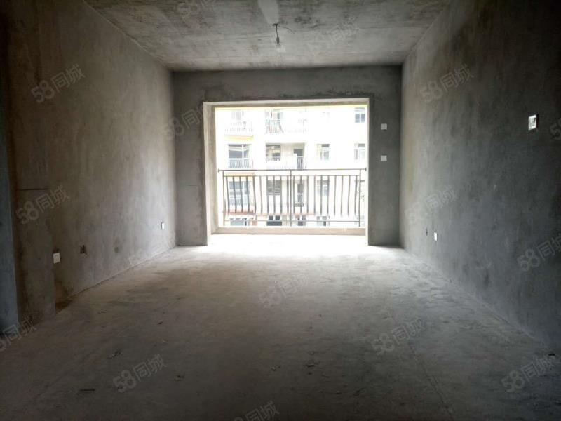 市政府旁洲际华府小区中间毛坯3房可更名可按揭