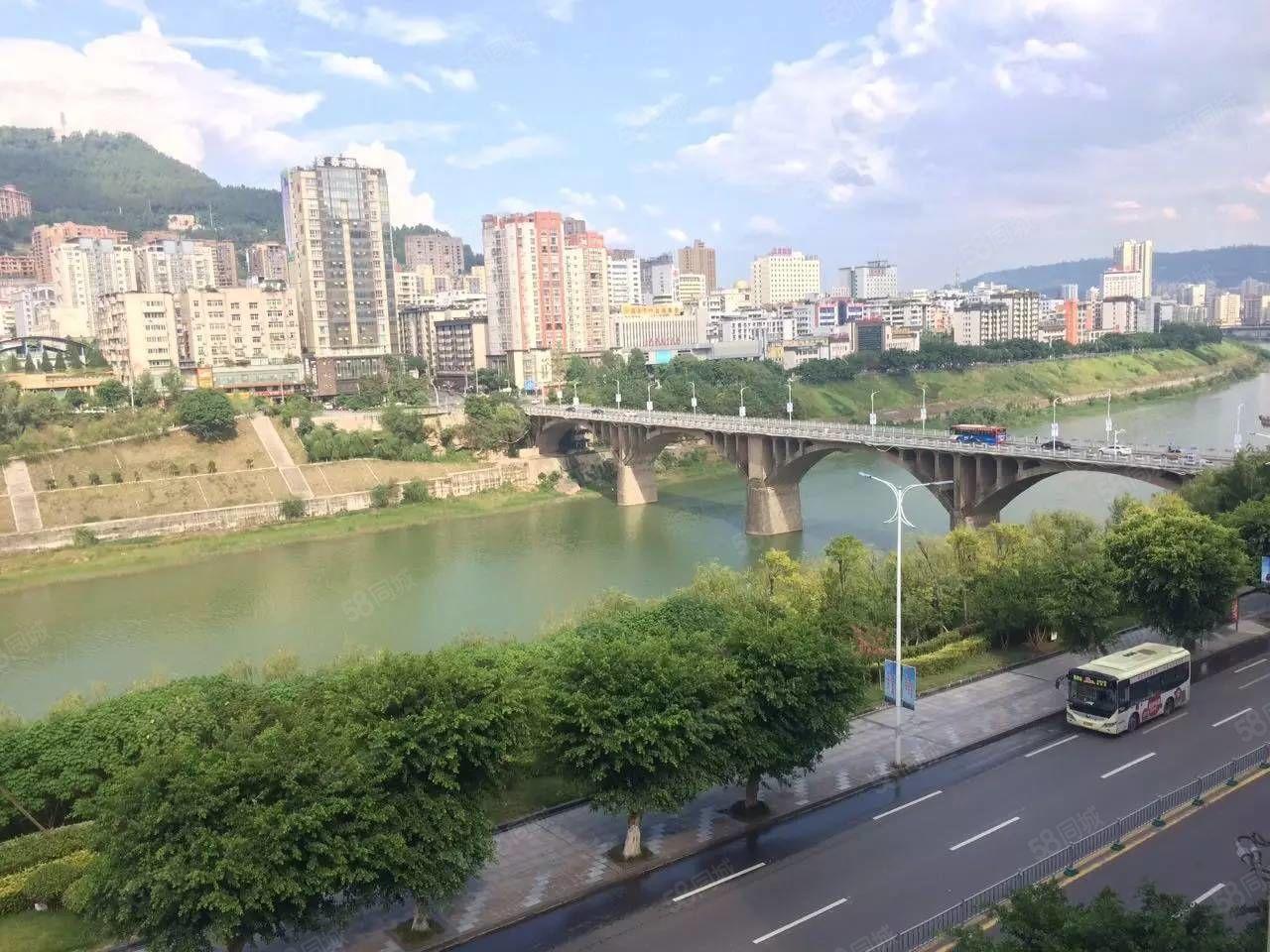 观巴城看河景柳津桥附近