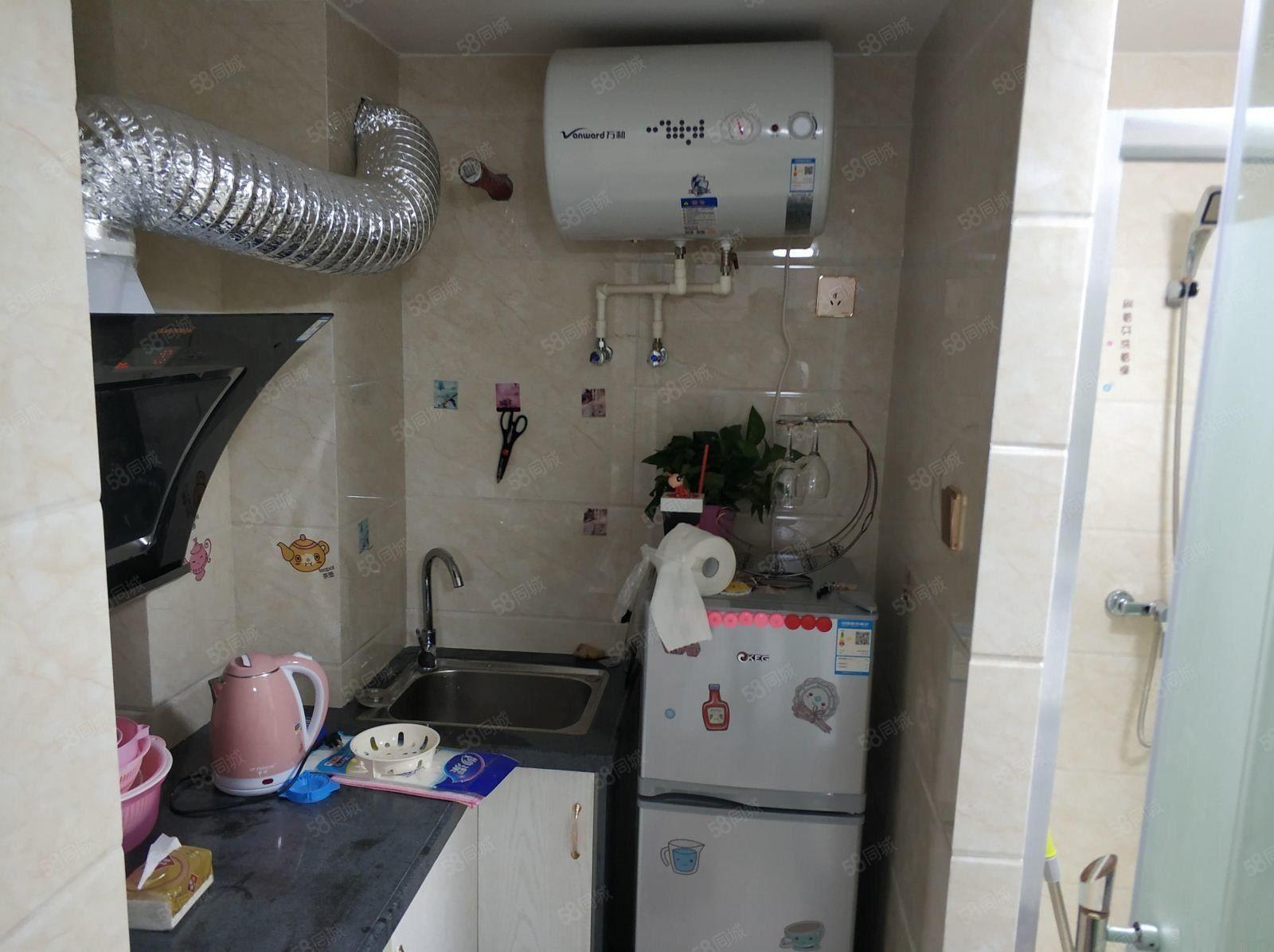 万达泰禾红树林艾特公馆单身公寓可拎包入住只要1200