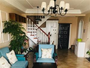 江泉国际豪华装修复式,图片真实,带车位,内置旋转楼梯,急售 18660985707