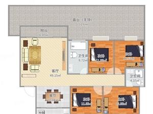 建发绿庄电梯房单价7千首付40多万大四房带装修生活方便