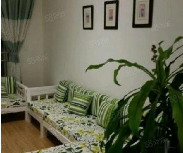极中心精装两居室带全套家具家电拎包入住