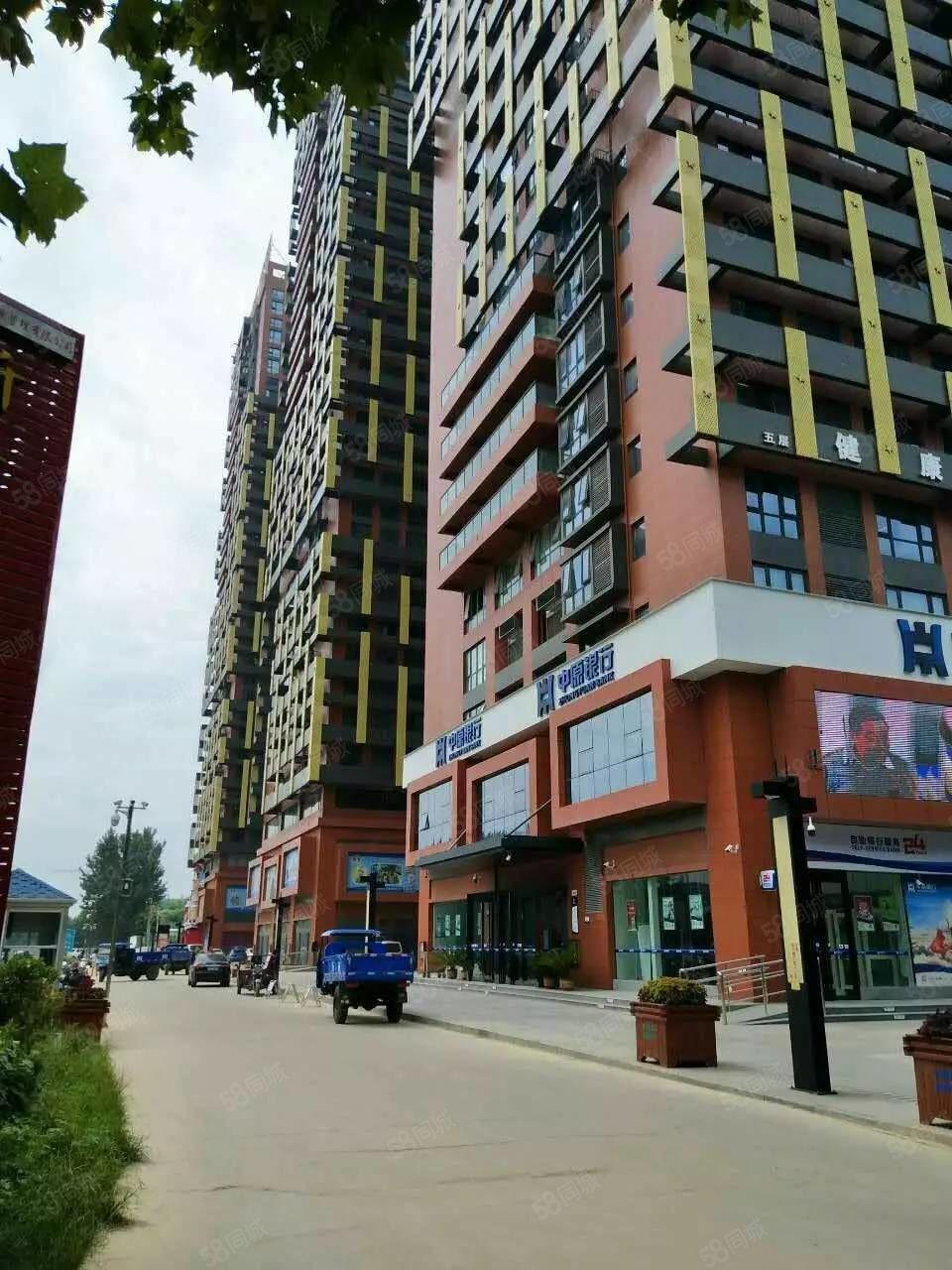 昌建MOCO新世界周口东区高档写字楼中等装修对外出租