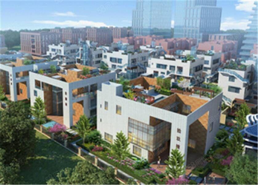 郑东商业中心1楼,院子140平,下沉130平!实用400平!