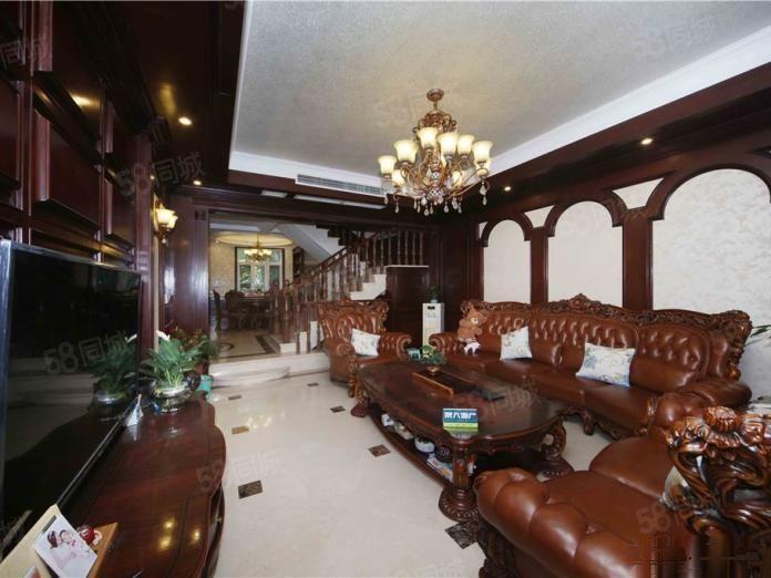 后花园豪华大别墅,300平奢华享受,一路�l�l�l,随时入住