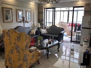 江畔人家、滨江帝景3房装修高楼层满2年按揭首付60万