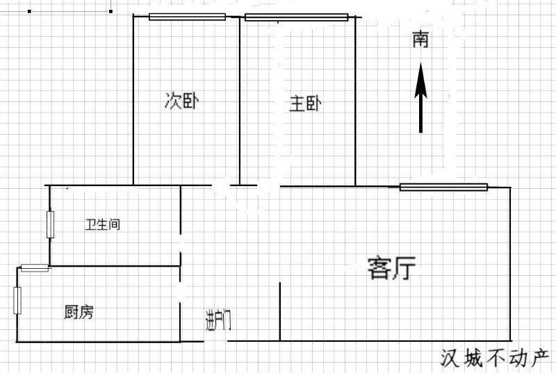 急急急!!!汉城实验中学书香河畔精装两室!有证可按揭!