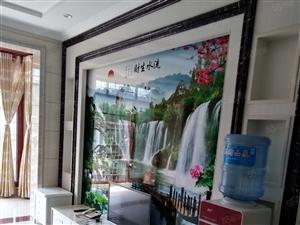 泸县朝阳锦华城新装3室2厅出租,未住过人的