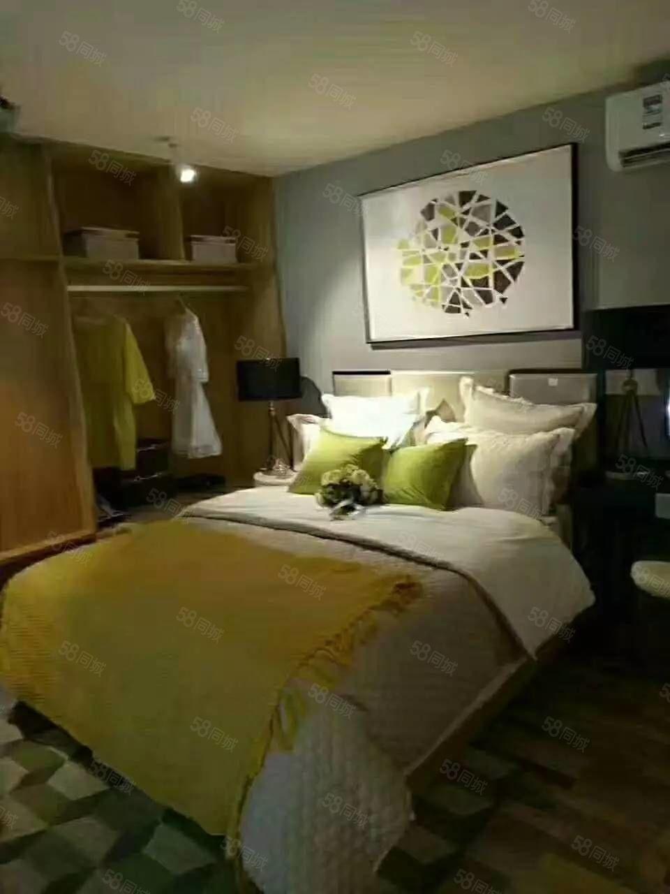 航海路福塔旁精装公寓首付4万不限购不限贷五证齐全