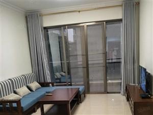 家乐福附近海名轩2房带大露台精装修全新家具家电价格便宜出租