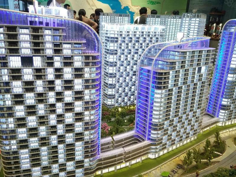 房价不断上涨的城市大理,洱海边上公寓出售。LOFT买一送一